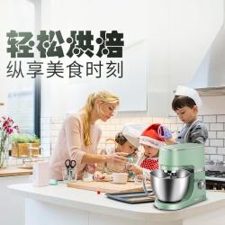 善叮厨 厨师机家用和面机多功能揉面机商用奶油搅拌器鲜奶机电动打蛋机铸铝机身EF720