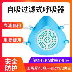 口罩防尘透气防雾霾防护用品呼吸口鼻罩硅胶女非一次性包邮男面具