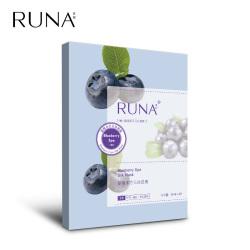 乳娜蓝莓水疗云丝面膜25ml/片,5片/盒修复补水适合粗糙干燥肌肤