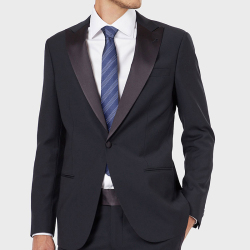 AujacSon奧杰遜 高端商務經典條紋男士領帶