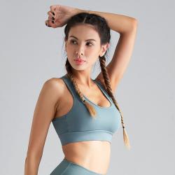 运动内衣女防震跑步聚拢定型搭扣美背瑜伽背心式固高强度健身文胸 SYG1900232425
