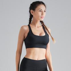 运动内衣女防震跑步聚拢定型搭扣美背瑜伽背心式固高强度健身文胸 SYG1900262728