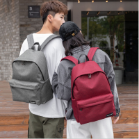 帆布双肩包男女韩版初中学生书包大容量户外旅行背包  802