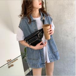 斜挎包女小包2020夏季新款多功能胸包韩版时尚个性腰包女  9008