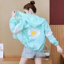防晒衣女2020夏装新款短款轻薄透气防晒服韩版防紫外线外套