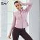 S&W 秋冬款瑜伽服女专业高端网红健身房晨跑步性感时尚速干运动外套 S9AW1102