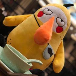 可愛干嘛鴨公仔網紅抱枕黃色鴨子毛絨玩具兒童玩偶布娃娃生日禮物