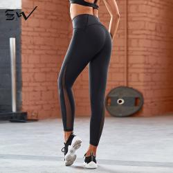 S&W 秋冬款瑜伽服女专业高端网红健身房晨跑步性感时尚塑身裤 18AW6018W