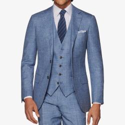 AujacSon奥杰逊 高端男士韩版商务领带8c条纹拉链领带桑蚕丝可定做 Y20W058