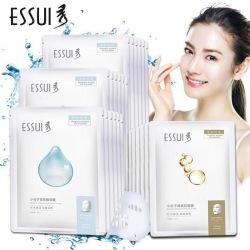 ESSUI一秀小分子玻尿酸补水保湿熊果苷柔嫩透亮面膜女孕妇可用