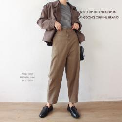 A8麻铺原创 2020秋冬新款时尚气质棉麻宽松舒适休闲三件套