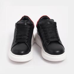伊二三 韓版小白鞋女松糕底女鞋厚底板鞋系帶女單鞋潮5537-55