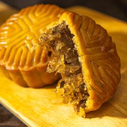 五邑好货 老式广式陈皮冬蓉豆沙莲蓉月饼中秋送礼多种口味