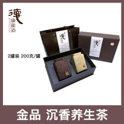 茶款 沉香白木香叶养生茶 京东快递 金品饮品 2罐装 200克/罐