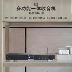 Ocean Digital海弦 网络收音机 WR-10 FM调频收音wifi连接热点自动搜台全球100多家