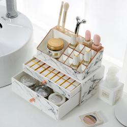 科特豪斯 化妆品桌面收纳盒 PB9936P-MBRG+PB6338P-MB