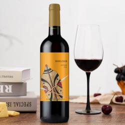 雪德混酿红葡萄酒南非原装进口2支装
