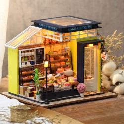 新品diy小屋别墅手工制作结婚房子模型拼装玩具生日礼物