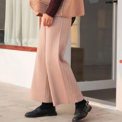 直筒阔腿裤子女秋冬新款2019韩版一件代发宽松加厚女裤YS988077