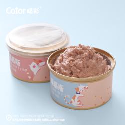 Cator喵彩猫罐头奶糕慕斯罐头成幼猫孕猫增肥营养零食肉泥85g*4罐