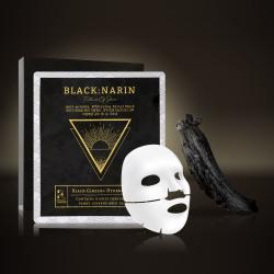 黑NARIN 黑人参水凝胶面膜水润浓烈锁住肌肤深层水分5片30g