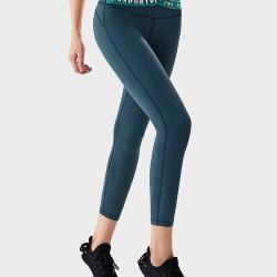 SW 瑜伽裤收腹提臀健身裤女弹力紧身运动裤跑步速干透气瑜伽服外穿  S9SS6029W