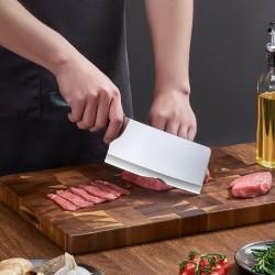 炊大皇菜刀家用厨房刀具不锈钢菜刀厨师专用锋利切肉切菜切片刀 SL29119