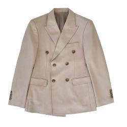 UNDERCROXX 时尚气质男士西装 双排扣外套 5281