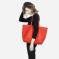 桐乐儿 纯色大容量手提购物袋 ES168035