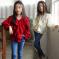 2019春季新款韩版女童衬衫ins中大儿童荷叶边宽松V领时髦长袖全棉衬衣潮款可爱女童
