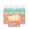 【觅俏】原生竹浆本色抽纸面巾纸巾6包*400张/包