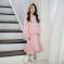2019韩版中大女童秋季新款洋气时尚休闲套装中大童卫衣裙两件套儿童裙套装