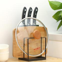 炊大皇厨房置物架刀板架厨房收纳架菜板架刀架 简雅刀板架