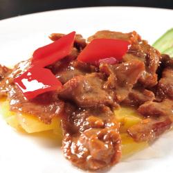 益大嘉原味牛肉片250g/袋 原切牛肉片火锅饭店食材原料半成品商用