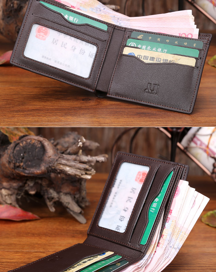 男士 钱包/【登希诺】dhilu钱包鳄鱼纹男士横款钱包 D008/1