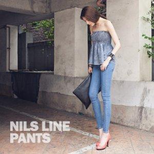 春季 牛仔裤 女 小脚裤 韩版 纯色 铅笔裤 显瘦 窄脚