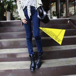 新品韩国代购潮女装新款显瘦牛仔裤低腰小脚裤铅笔裤女裤长裤