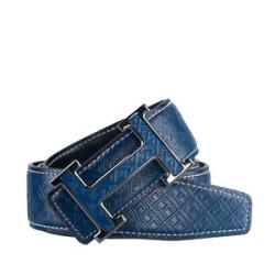 【芙格】 时尚新款流头层牛皮皮带 p001