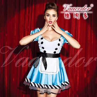 女仆装 修身显瘦 大型演出服1234