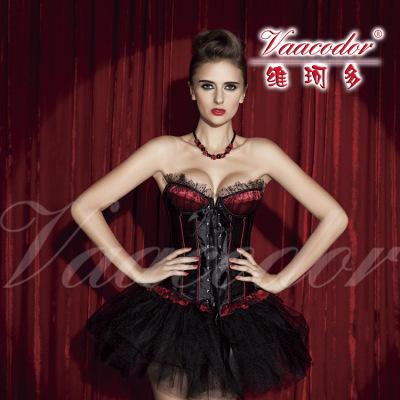 【维珂多】魅力舞台装 束身衣+短裙1229
