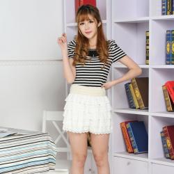 建昇时尚 潮流淑女时尚裤裙 2014002