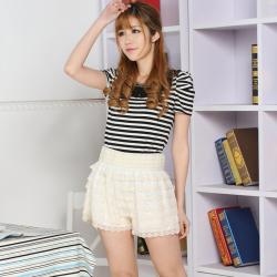 建昇时尚 潮流淑女时尚裤裙 2014005