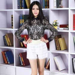 建昇时尚 潮流淑女时尚裤裙 2014013