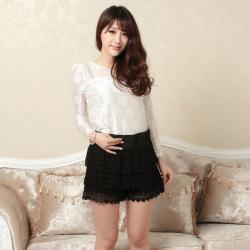 建昇时尚 潮流淑女时尚裤裙 2014024