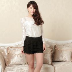 建昇时尚 潮流淑女时尚裤裙 2014021