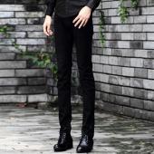 屌丝一族 紧身牛仔裤男铅笔裤男韩版牛仔裤6788
