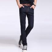 屌丝一族 紧身牛仔裤男铅笔裤男韩版牛仔裤8311