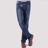 屌丝一族 修身直筒牛仔裤1363
