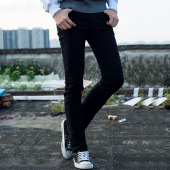屌丝一族 紧身小脚牛仔裤806