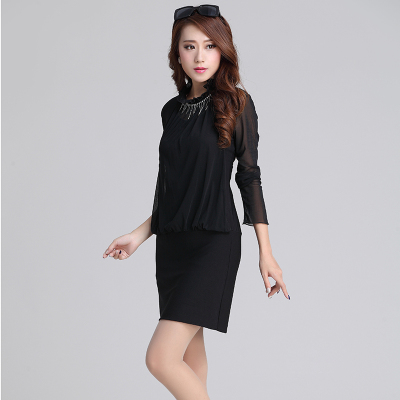 丝柏儿 时尚连衣裙 410#